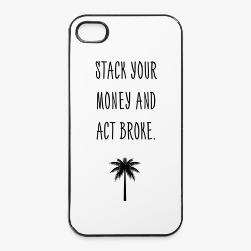 STACK YOUR MONEY CASE - iPhone 4/4s Hard Case