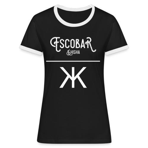 ESCOBAR X KEVKEV CLOTHING KONTRAST SHIRT WOMEN  - Frauen Kontrast-T-Shirt