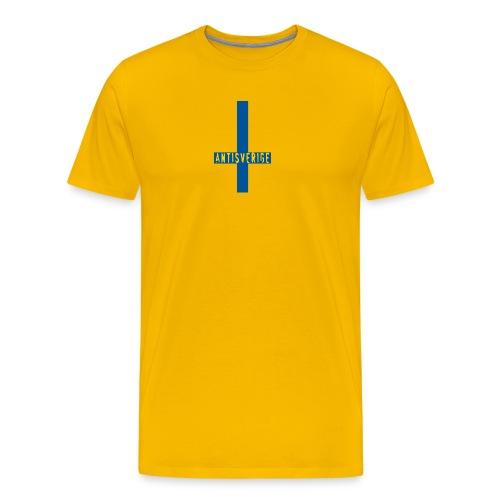 Anti-T - Premium-T-shirt herr