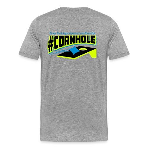 Cornhole Shirt Herren - Neon Trend - Männer Premium T-Shirt