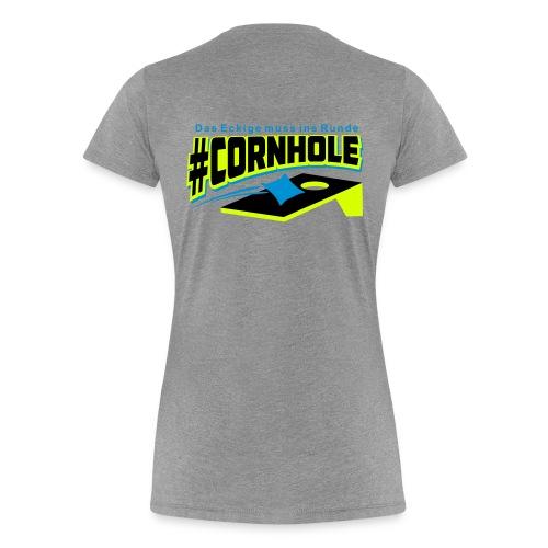 Cornhole Shirt Damen - Neon Trend - Frauen Premium T-Shirt