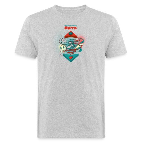 Recalculando Ruta El Chojin. - Camiseta ecológica hombre