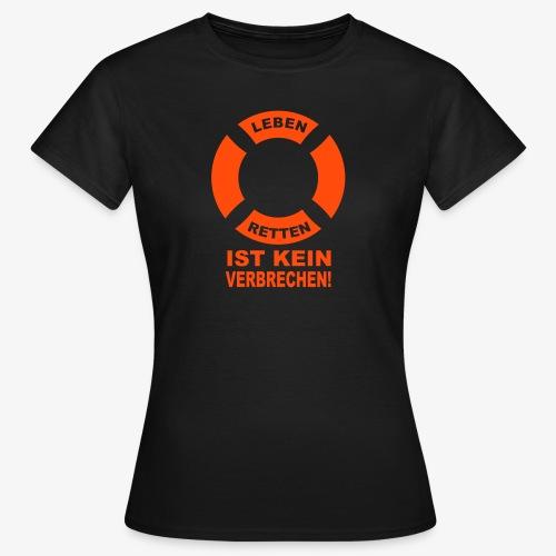 Rettungsring - Frauen T-Shirt