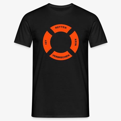 Rettungsring 2 - Männer T-Shirt