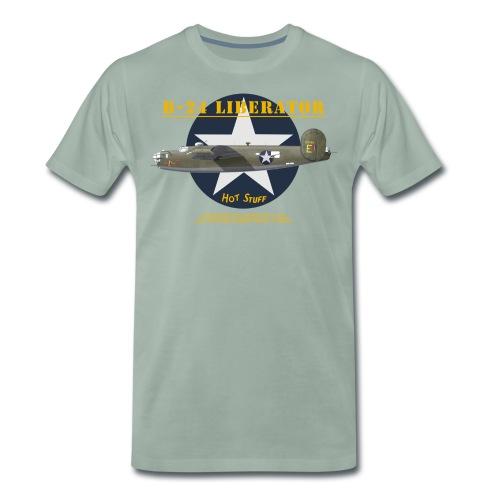 B-24 Liberator Hot Stuff - T-shirt Premium Homme
