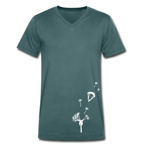 Windflieger Bio-Shirt groß - Männer Bio-T-Shirt mit V-Ausschnitt von Stanley & Stella