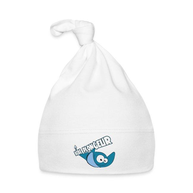 Bonnet bébé plongeur blanc