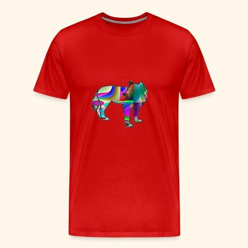Le loup - T-shirt Premium Homme