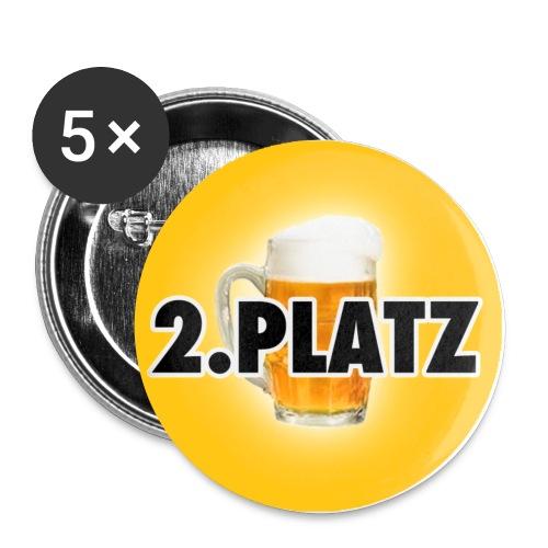 Zweiter - Buttons klein 25 mm