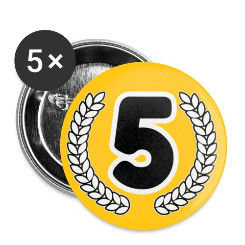 5 - Buttons klein 25 mm