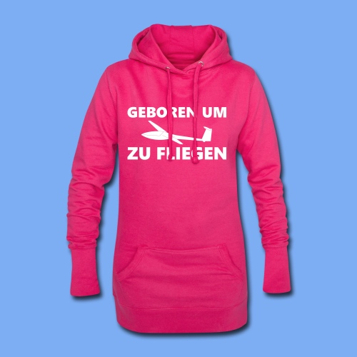 Geboren um Segelfliegen zu gehen - Segelflieger Geschenk Idee lustig - Hoodie Dress