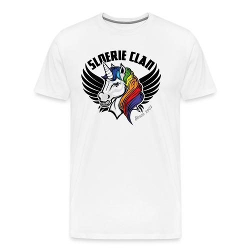 Sloerie Clan T-shirt White Men - Men's Premium T-Shirt