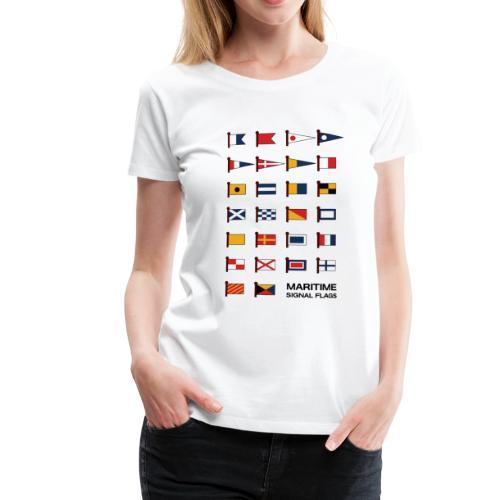 Flaggen - Frauen Premium T-Shirt