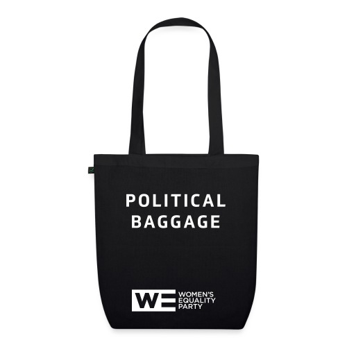 Political Baggage tote  - EarthPositive Tote Bag