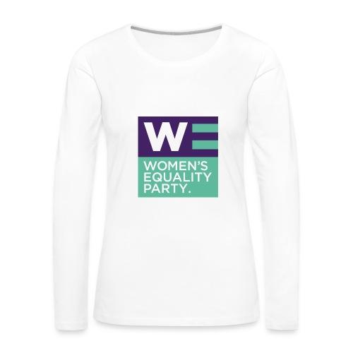 Long sleeve fitted top  - Women's Premium Longsleeve Shirt