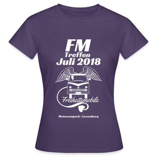 FM-Treffen 2018 Festival Shirt / Nur für kurze Zeit! - Frauen T-Shirt
