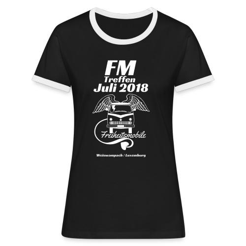 FM-Treffen 2018 Festival Shirt / Nur für kurze Zeit! - Frauen Kontrast-T-Shirt