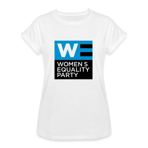 WE T-Shirt - Women's Oversize T-Shirt