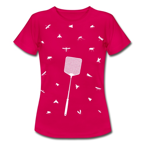Vliegjes vrouwen t-shirt - Vrouwen T-shirt