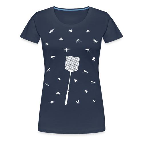 Vliegjes vrouwen premium - Vrouwen Premium T-shirt