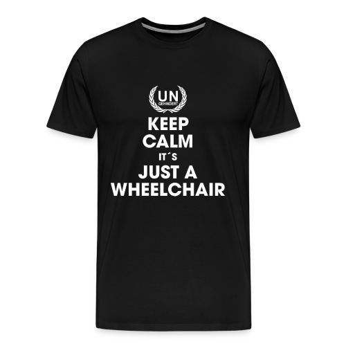 Keep calm Wheelie - Männer Premium T-Shirt