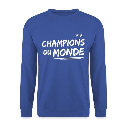 France Champions du Monde 2 étoiles  - Sweat-shirt Homme