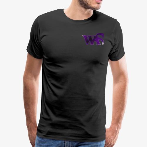 WaS Logo Default - Männer Premium T-Shirt