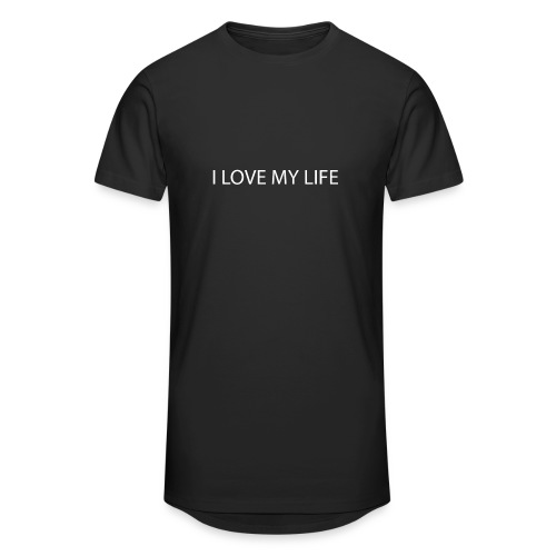 I LOVE MY LIFE - T-shirt long Homme