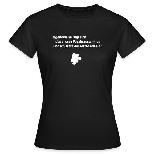 Linke obere Ecke - Frauen T-Shirt