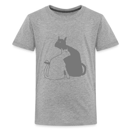 katzen - Teenager Premium T-Shirt