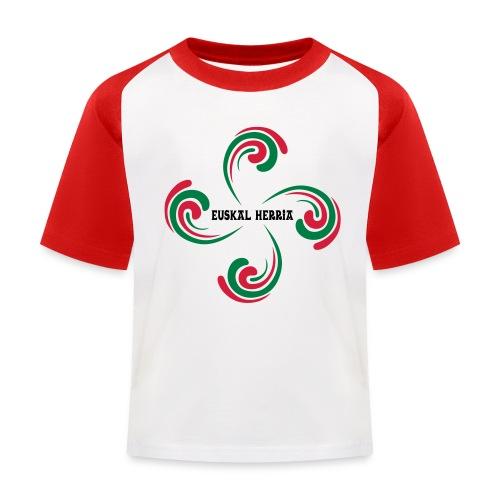 Croix Basque - T-shirt baseball Enfant