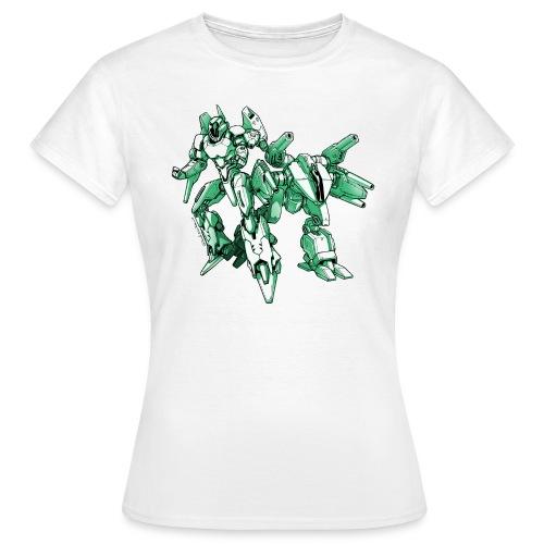 Mecha Robot T Shirt Woman - Women's T-Shirt