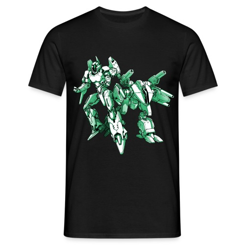 Mecha Robot T Shirt Man - Men's T-Shirt