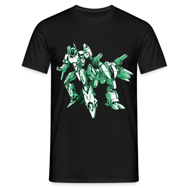 Mecha Robot T Shirt Man