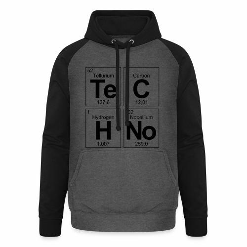 Techno Elemente - Hoodie - Unisex Baseball Hoodie