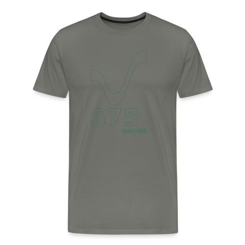 675Games Men Hood Shirt Green - Männer Premium T-Shirt