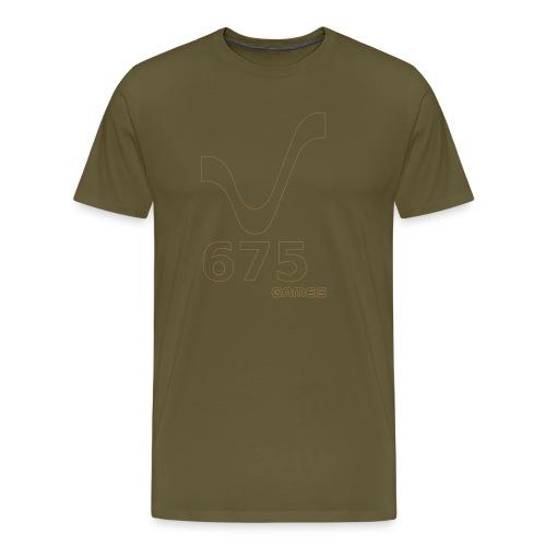 675Games Unisex Hood Shirt Brown - Männer Premium T-Shirt