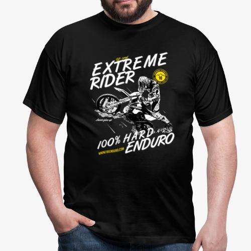 T-shier Extrem enduro rider - T-shirt Homme