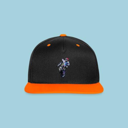 Cap Tobi Wheeli - Kontrast Snapback Cap