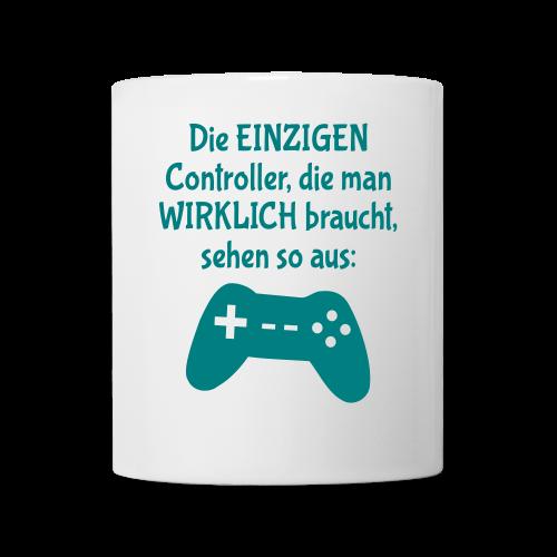 Controller Gamer BWLer Spruch Tasse - Tasse