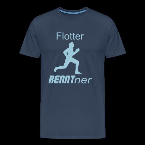 Sportlicher Rentner Ruhestand Geschenk T-Shirt - Männer Premium T-Shirt