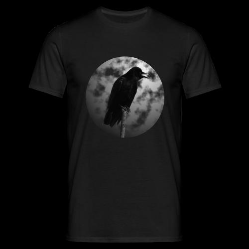 Rabe Mond Gothic T-Shirt - Männer T-Shirt