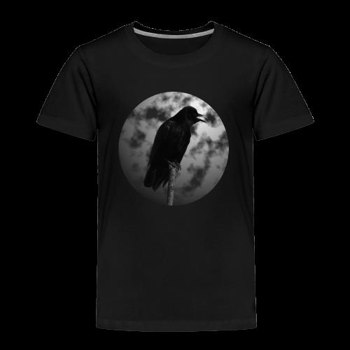 Rabe Mond Gothic Kinder T-Shirt - Kinder Premium T-Shirt
