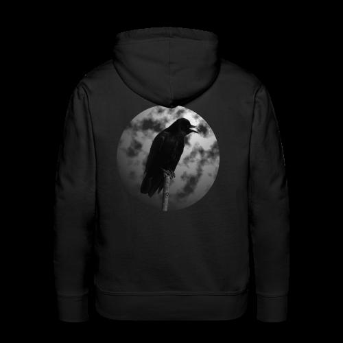 Rabe Mond Gothic Hoodie - Männer Premium Hoodie