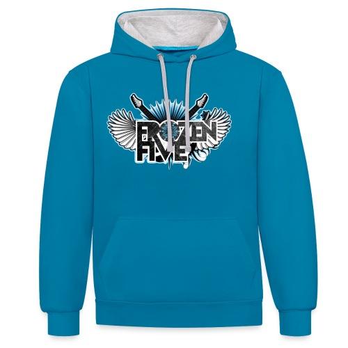 Frozen Five Classic Hoodie - Contrast hoodie