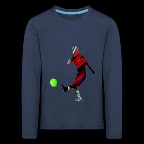 Football 2 - Kinder Premium Langarmshirt