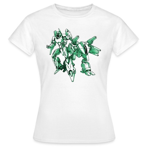 Mecha Robot T Shirt Woman - Women's T-Shirt