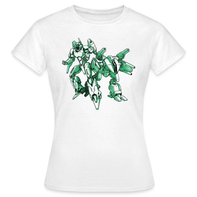 Mecha Robot T Shirt Woman