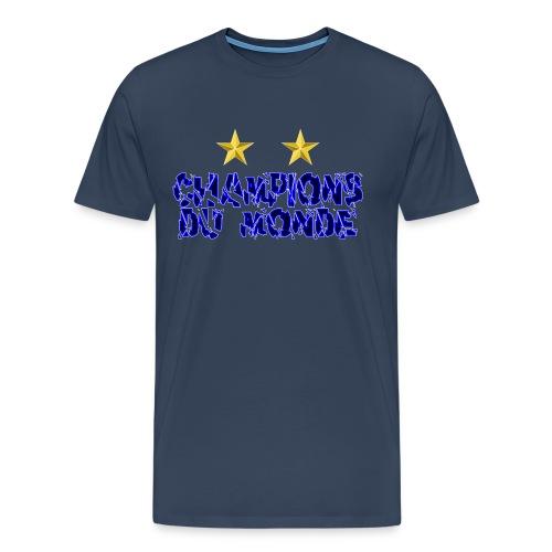 Champions du Monde - T-shirt Premium Homme