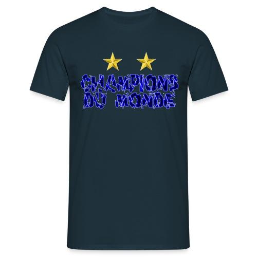 Champions du Monde - T-shirt Homme